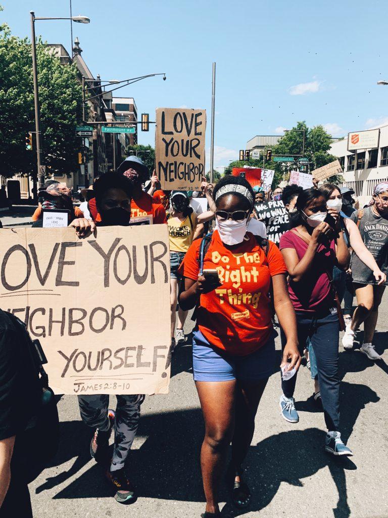 Epiphany fellowship-black lives matter-protest-inclub magazine