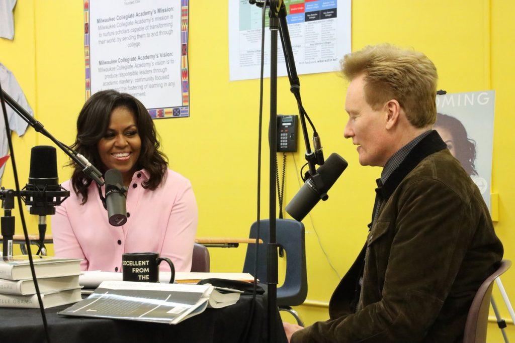 Conan O'brien-Michelle Obama
