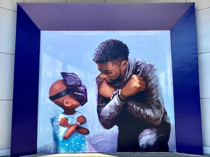 Chadwick-Boseman-mural_Nikkolas Smith