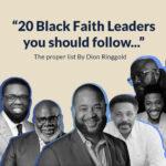 20 Black faith leaders
