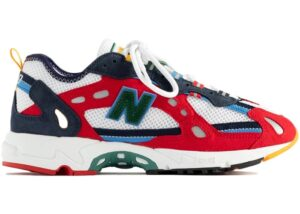 New-Balance-827-Abzorb-Aime-Leon-Dore-Red