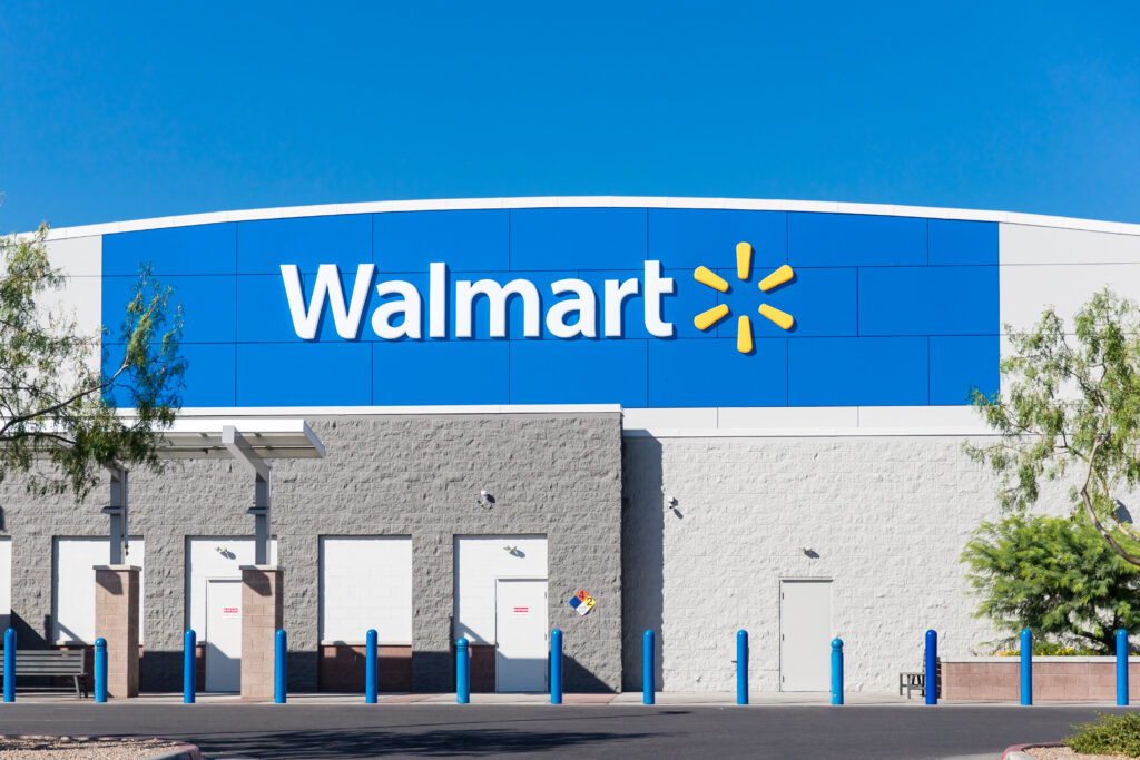 Tucson,,Az,July,21,,2019:,Walmart,Store,Building,Sign
