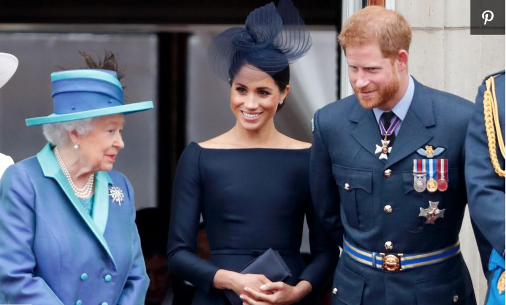 Queen Elizabeth-Meghan Markle-Prince Harry-InClub Magazine