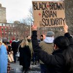 End The Violence Toward Asians Rally