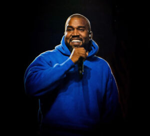 Kanye West during Sunday Service