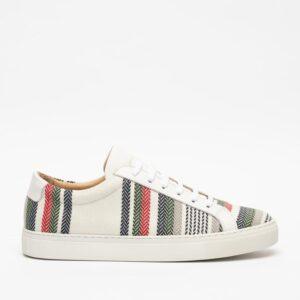 TAFT_Sneaker_in stripes_$225